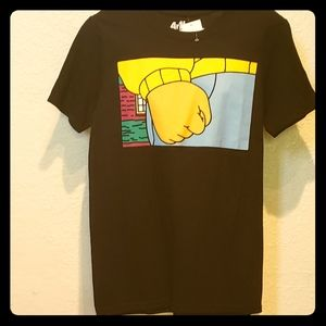 Arthur fist graphic tee
